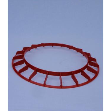 AGROFORTEL - plastový ochranný kruh pre Tubusové kŕmidlo pozinkované - 18 kg