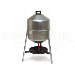 AGROFORTEL Kovová Sifónová napájačka pre hydinu - objem 30 litrov