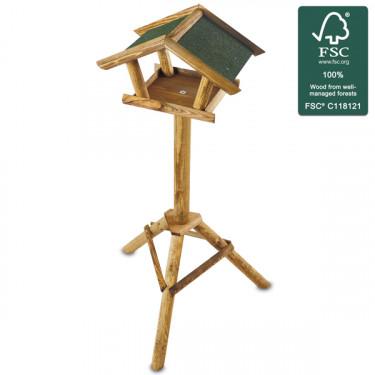 Drevené vtáčie krmítko Vtáčie domček