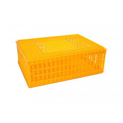 Prepravný box na hydinu - nízky, skladacie