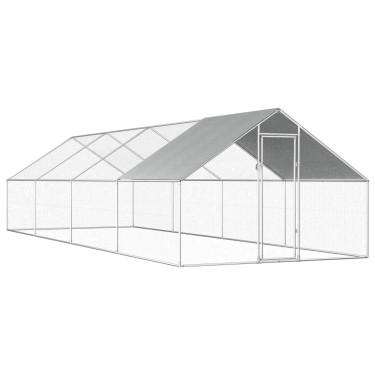 Vonkajšie klietka - oplotený výbeh - 8x3x2m