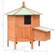 Drevený kurník MALLORCA, 1260x1170x1250 mm