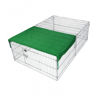 Výbeh pre králiky, morčatá a iné hlodavce 144x116x58 cm