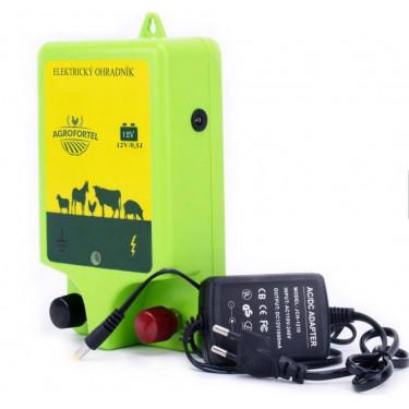 Zdroj elektrických impulzov pre elektrický ohradník - 0,5 J. Pre elektrický sieťový zdroj 230V. Ohrada 5 km.