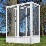 Prístavok k Luxusné Voliére pre vtáky - Břeclav - masívne drevo, 136 x 52 x 114 cm