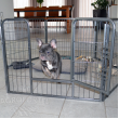 Výbeh pre psov a ďalšie zvieratá - veľkosť M - 8 segmentov, výška 80 cm