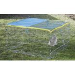 Výbeh pre králiky, morčatá a iné hlodavce 115 x 115 x 65 cm