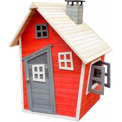 Detský drevený domček Karlík, 120 x 102 x 154 cm