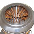 Bubnová šklbačka na hydinu BRM1800 - kurčatá, kačice, husi, morky - do 15 kg