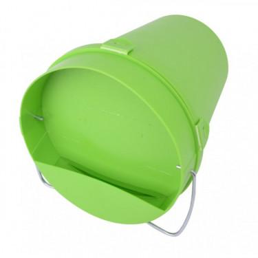 Vedrová napájačka plastová - 5,5 l - zelená
