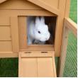 Drevená králikáreň BOSKOVICE, 1470x530x850 mm