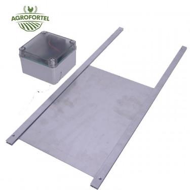 Automatická dvierka na otváranie / zatváranie kurníku komplet s externým senzorom