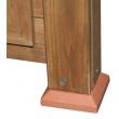 Drevený kurník a Husník JIHLAVA, 930x730x670 mm