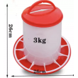 Kŕmidlo pre hydinu tubusové - 3 kg