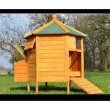 Drevený kurník POZNAŇ, 1250x1250x800mm