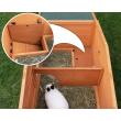 Drevená králíkáreň Prachatice, 1800x620x720 mm