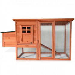 Drevený kurník VALENCIA, 1820x1030x750 mm