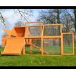 Drevený kurník VIEDEŇ, 1720x760x1020 mm.