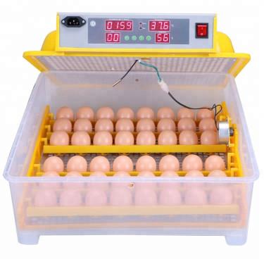 Automatická digitálny liaheň WQ-48 s dolíhní a vlhkomerom. Pre 48 vajec.