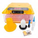 Plne automatické liahne s reguláciou vlhkosti s multi držiakmi pre všetky druhy vajec