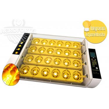 Automatická digitálná liaheň YZ24S s doliahní, vlhkomerom a integrovanou prosvětlovačkou vajec.