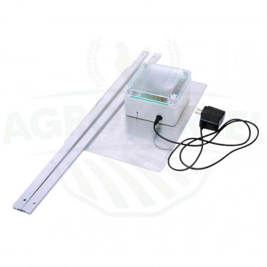 Automatická dvierka-komplet DUAL-batérie + adaptér + externý senzor