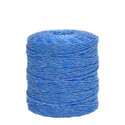 Lanko pre elektrický ohradník, priemer 3 mm, 400 m, modré