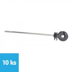 Izolátor kruhový dlhý skrutka - 220 mm