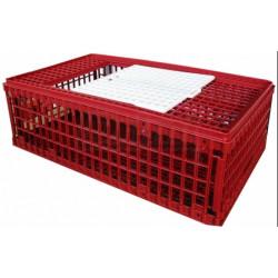 Prepravný box na hydinu - väčšie, skladacie, 2x dvierka