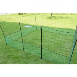 Nevodivá sieť - 2 hroty, 1,25m x 12m vrátane brány a kotviaceho materiálu